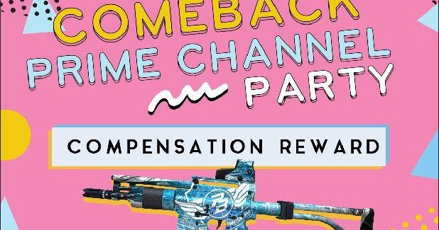 Redeem Code PB Evolution Event Comeback Prime Channel ...