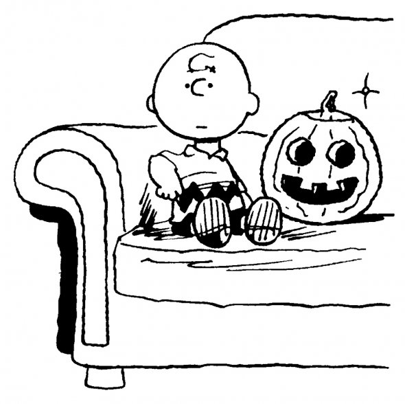 peanuts coloring pages halloween | HALLOWEEN COLORINGS