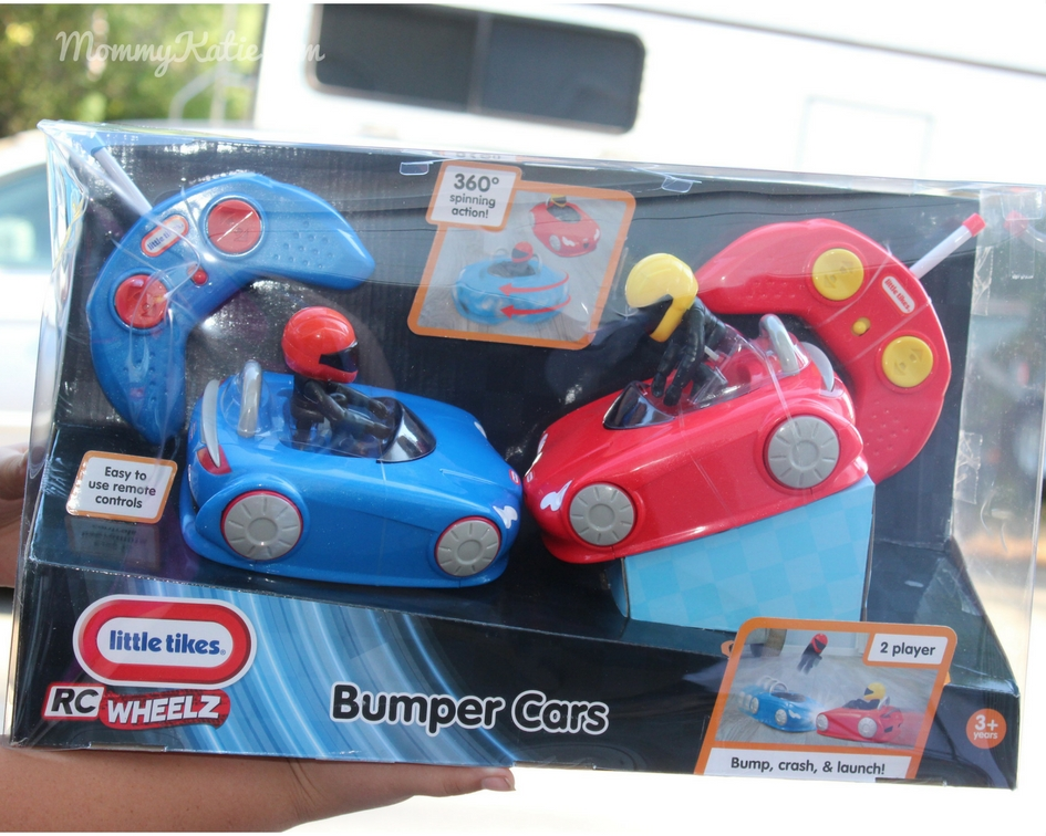 RC Fun with Little Tikes RC Wheels Bumper Cars - Mommy Katie Little Tikes Cook Around Kitchen And Cart Html on