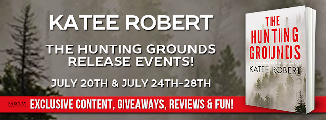 #NewReleaseAlert for @Katee_Robert 's THE HUNTING GROUNDS! A new #HiddenSins #thriller on Sale 7/25!