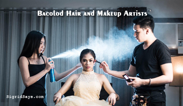Bacolod hair and makeup artists