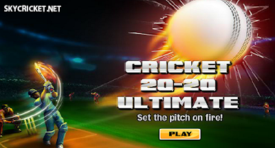 Play Cricket 20-20 Ultimate Game