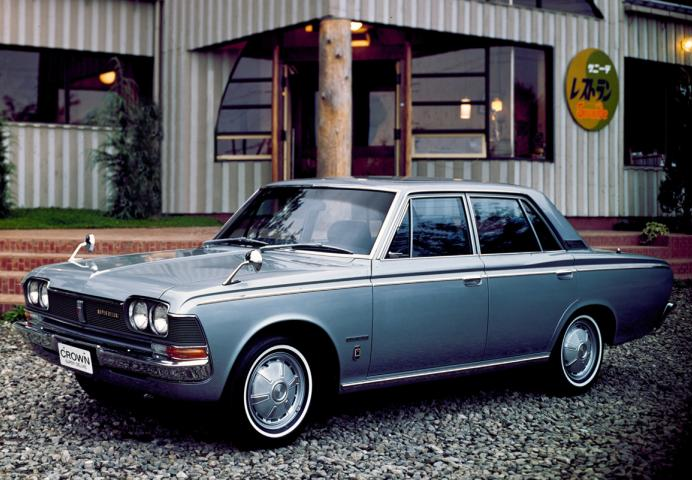 Toyota Crown Super Deluxe S50