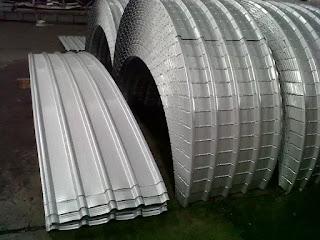 spesifikasi atap spandek lengkung
