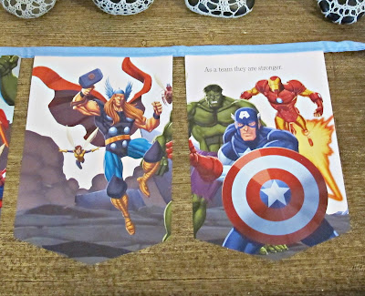 the avengers bunting domum vindemia