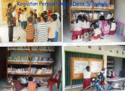 Profil Perpustakaan Desa Sidodadi, Desa Hargomulyo, Kulonprogo Yogyakarta