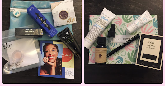 BIRCHBOX VS. IPSY ROUND 6: JULY SAMPLES