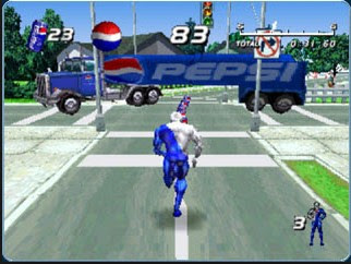 Game Pepsi Man PSX PS1