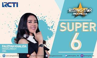 Fauziah Khalida : Gadih Minang Asal Payakumbuh Menuju Super 5 Rising Star Indonesia