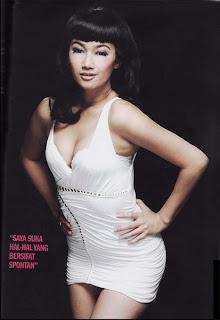 Sexy Picture Ratu Felisha in FHM Cover Magazine | areasexi