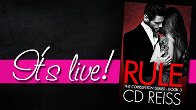 Release Blitz: Rule (The Corruption Series #3) by CD Reiss...