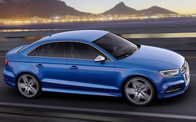 Novo Audi S3 Sedan 2017
