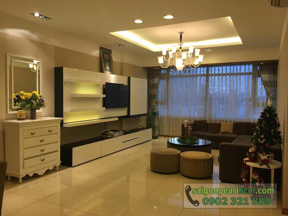 Căn hộ Saigon Pearl 3PN cho thuê tại block Sapphire 2