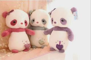 Boneka beruang love 21