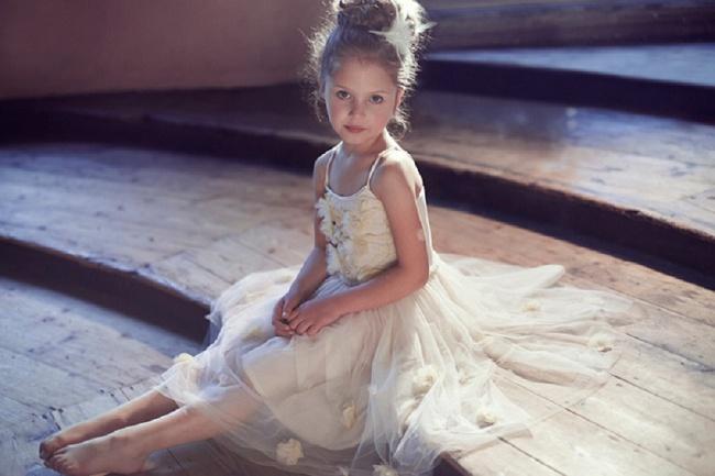 Lamb Amp Blonde Ballerina Flower Girls