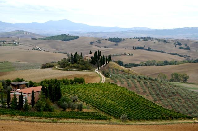 Toskania- Pienza i najpiękniejsze toskańskie kadry