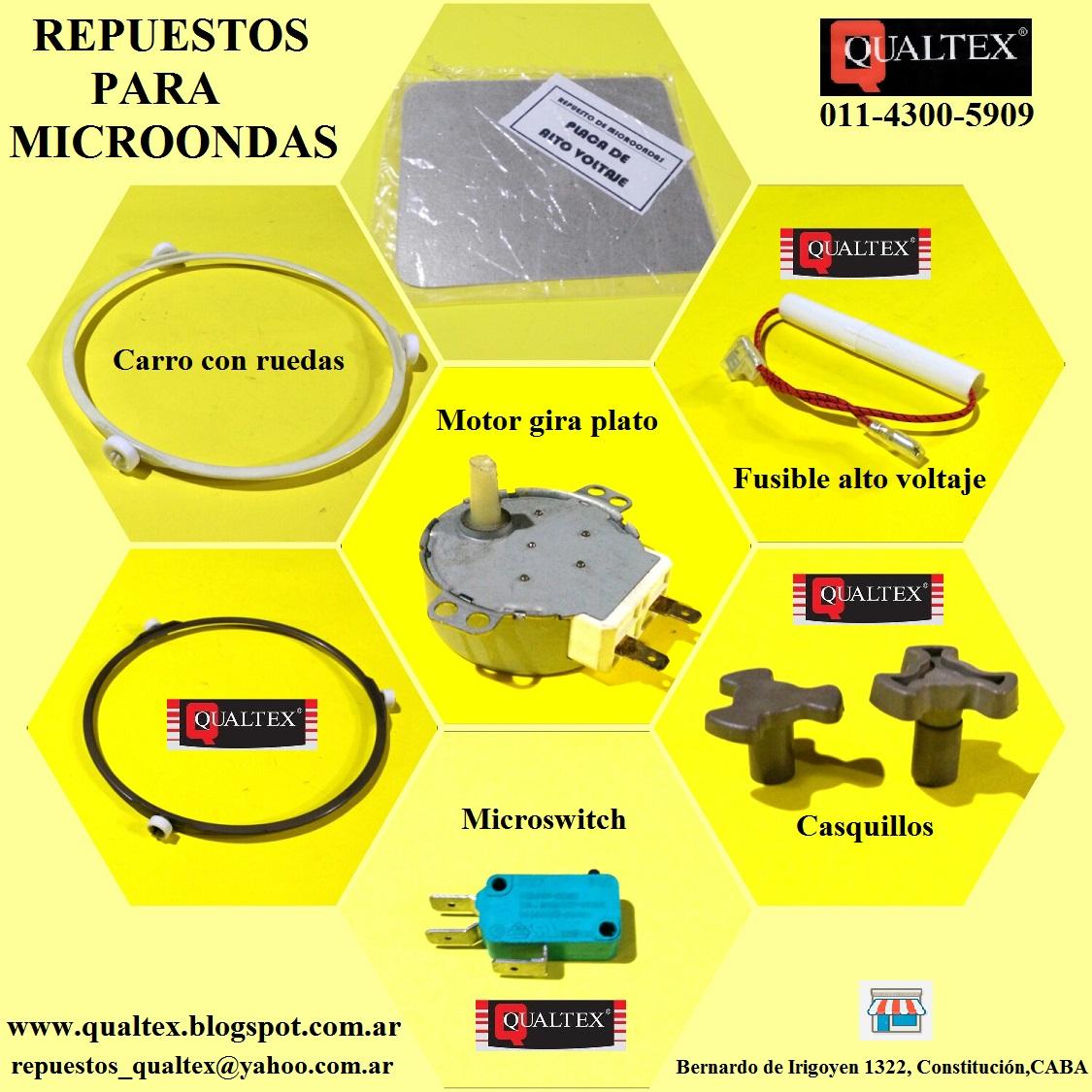Qualtex arg repuestos para electrodom sticos repuestos for Repuestos y accesorios para toldos