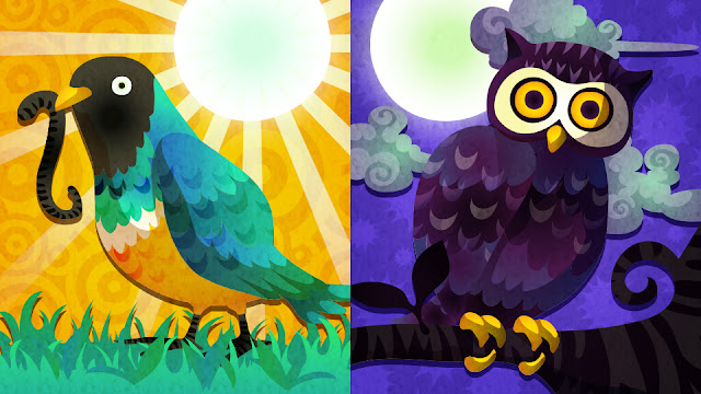 Early Bird Night Owl Splatoon Splatfest North America