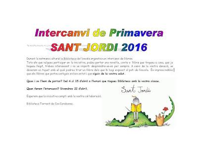 http://bibliotecacancarabassa.blogspot.com.es/2016/03/intercanvi-de-sant-jordi.html