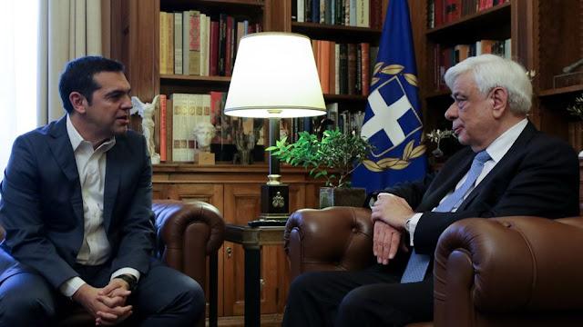 Τσίπρας σε Παυλόπουλο: Έχουμε συμφωνία στο Σκοπιανό