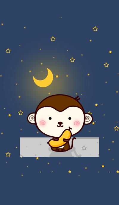 Monkey & Moonlight