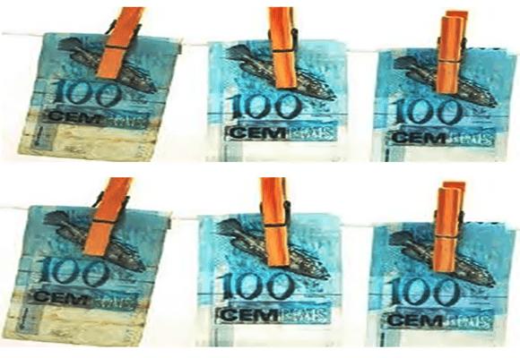Dinheiro-lavagem