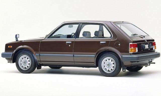 Honda Civic MK2 5-door 1500 EX