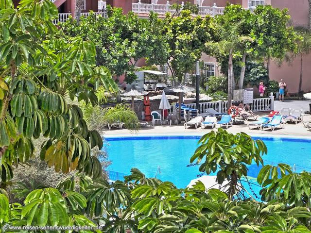 Pool Aparthotel El Duque Teneriffa Costa Adeje