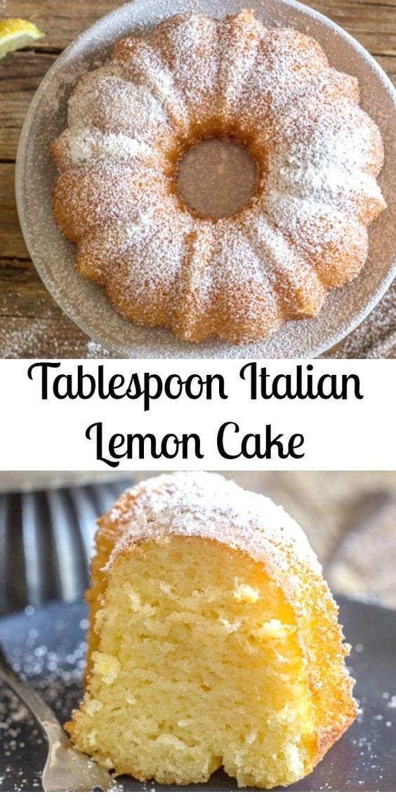 Tablespoon Italian Lemon Cake
