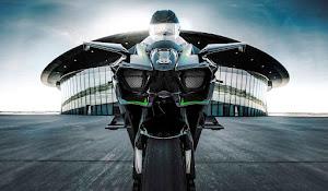 998 CC'lik Kawasaki Ninja H2R Resimleri