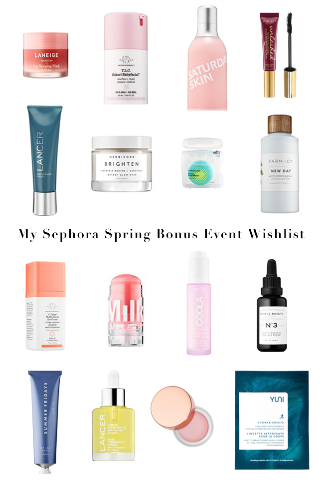 Sephora Spring Sale, Sephora Beauty Insider Sale, Sephora Spring Bonus Sale, Sephora Sale, Sephora VIB Sale