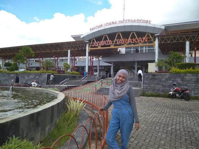 Foto Depan Bandara Juwata Tarakan