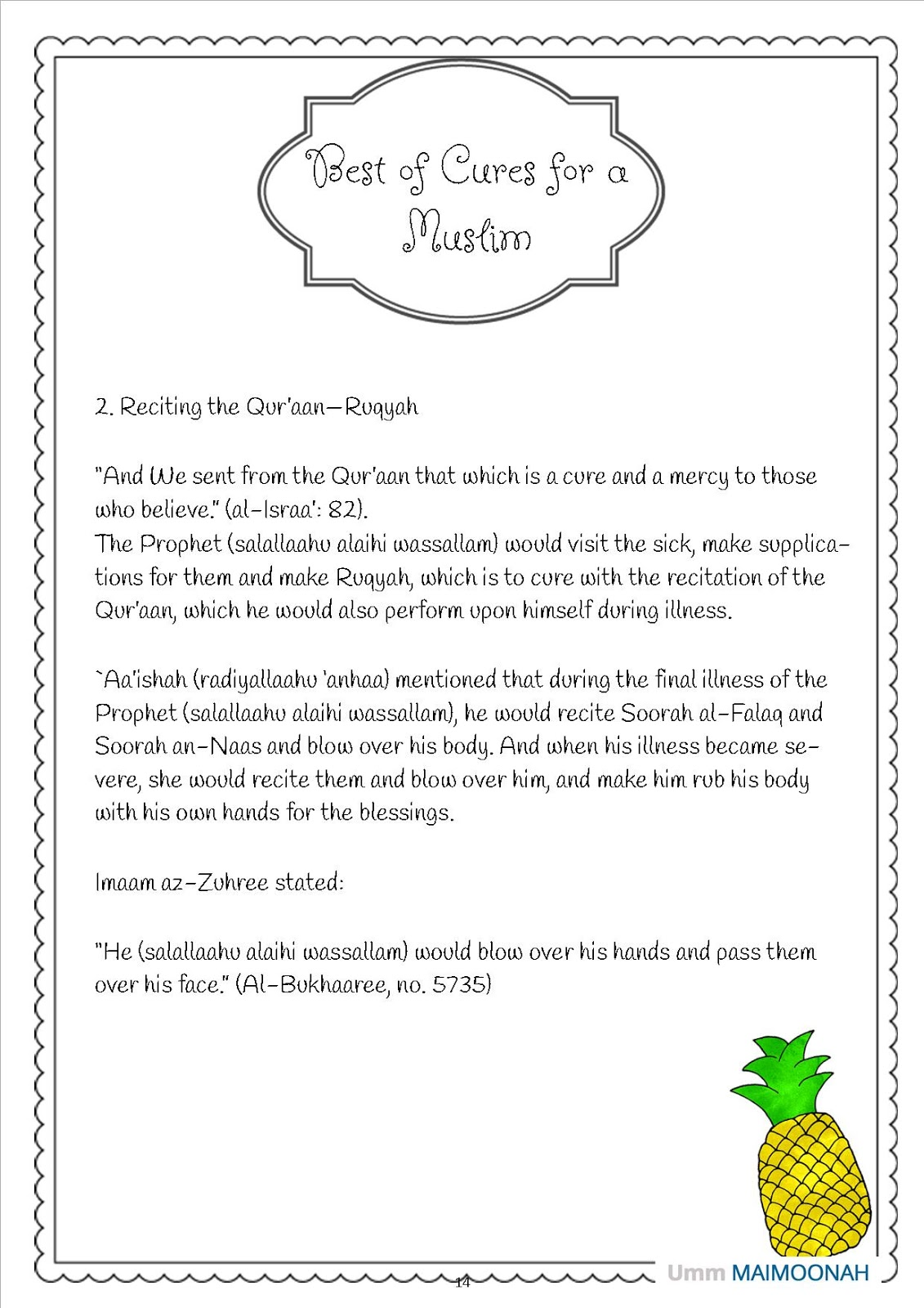 Ruqyah For Health