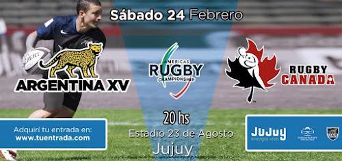 Continúa la venta de entradas para Argentina XV y Canadá en Jujuy