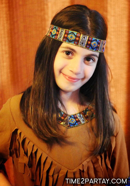 Jana S Unique Hair Salon: Jana's Native American Themed Birthday Party