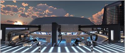 Sci-fi Transit Terminal