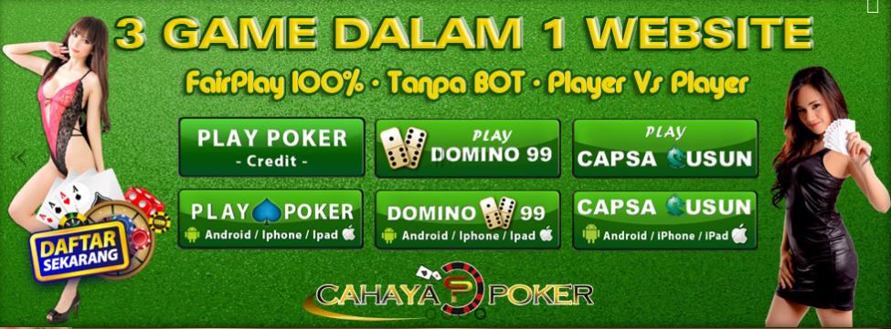 CahayaPoker.com Agen Judi Poker Dan Agen Domino - AGEN ...