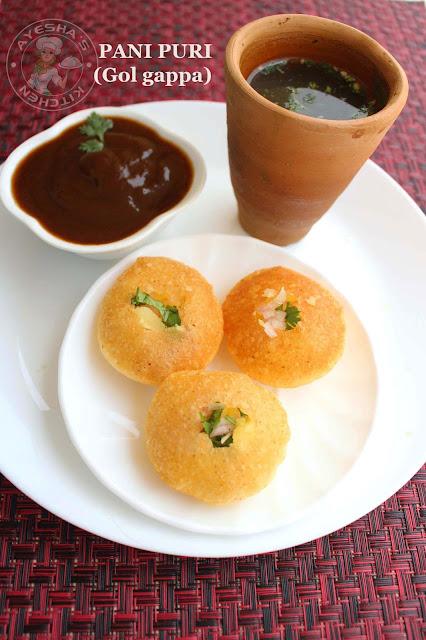 pani puri green water pani golgappa perfect puri for pani puri potato filling street food style