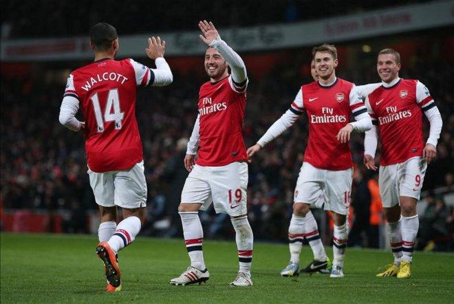 ArsenalFC: Arsenal 5 - West Ham 1