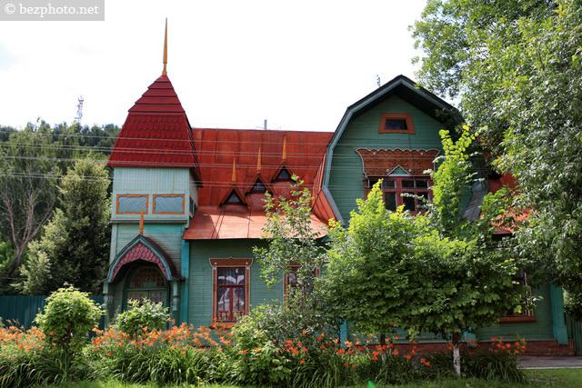 деревянные дома в стиле модерн