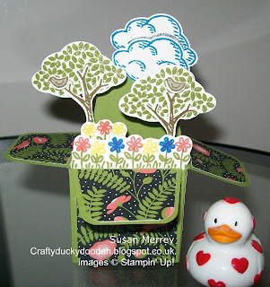 Stampin Up! UK Independent  Demonstrator Susan Simpson, Craftyduckydoodah!, Perfectly Wrapped Project Kit, Sprinkles of Life, Tree Builder Punch, Envelope Punch Board, Supplies available 24/7,