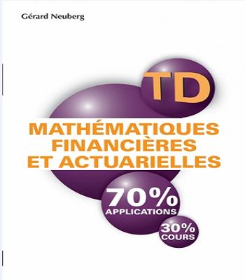 Mathématiques financières et actuarielles TD-PDF