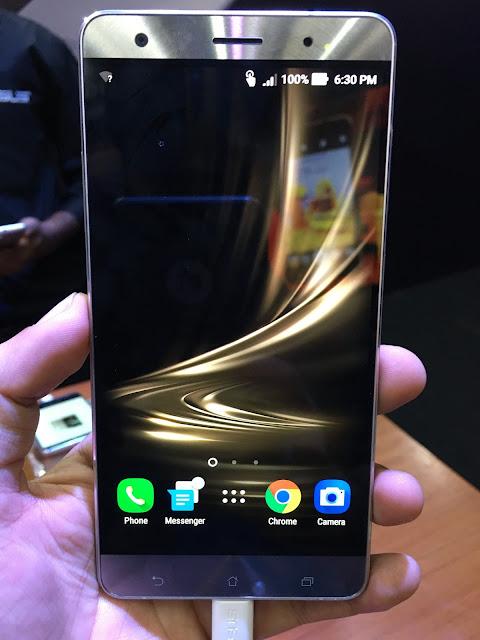 Asus launches ZenFone 3 series smartphones in India