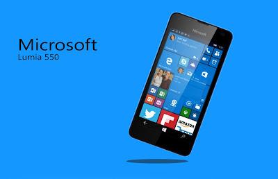 Características Lumia 550