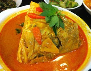 Cara Masak Gulai Kepala Ikan Kakap Merah - resep enak lezat