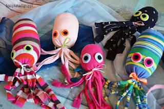 free DIY octopus - kostenlose Anleitung Oktopus Krake