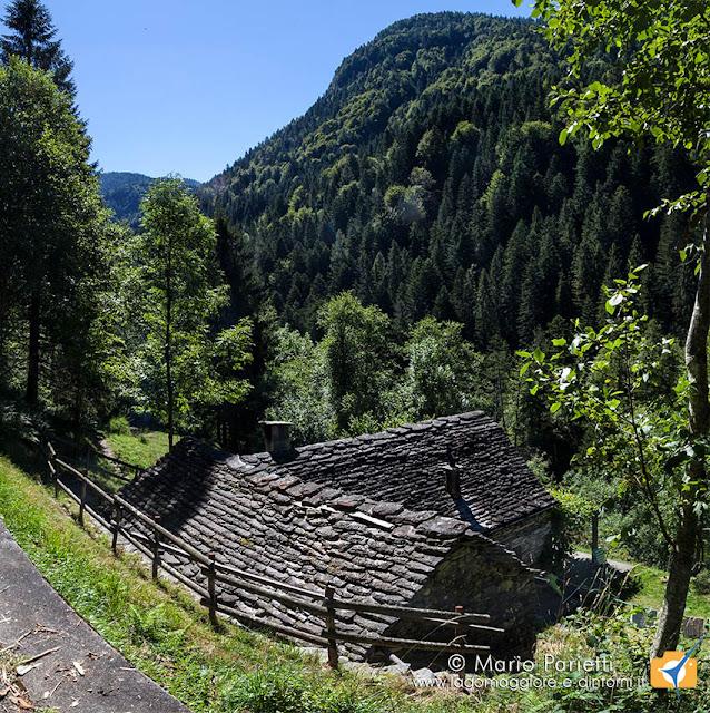 Baita in valle Onsernone