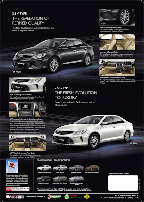 new camry facelift