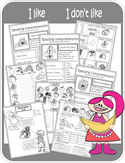 ESL Fruits Vocabulary Grammar I Like I Don't Like Worksheets Printables