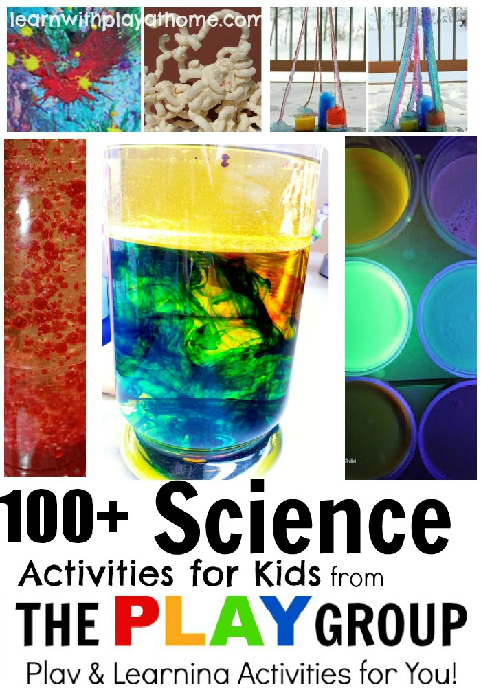 Learn With Play At Home 100 Science Activities For Kids